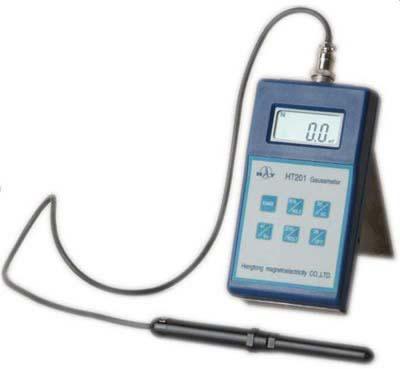 Medidor de campo magnético gaussmeter